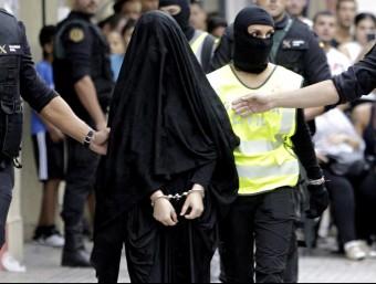 La dona detinguda per la Guàrdia Civil EFE