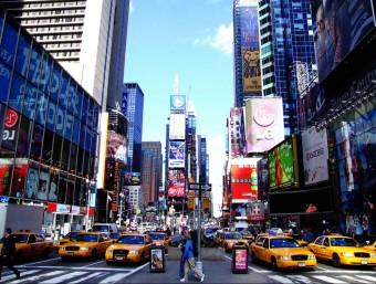 El comerç és l'activitat més important de la Cinquena Avinguda de Nova Yorc.  ARXIU
