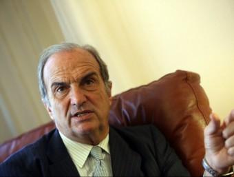 El president de Foment del Treball, Joaquim Gay de Montellà QUIM PUIG