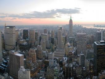 Els grans gratacels de Nova York plasmen la vitalitat de l'economia nord-americana.  ARXIU
