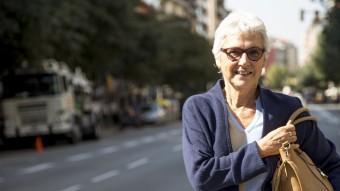 Muriel Casals, aquest dimecres passat a Barcelona ALBERT SALAMÉ