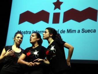 Un dels espectacles de la passada edició del MIM. EL PUNT AVUI