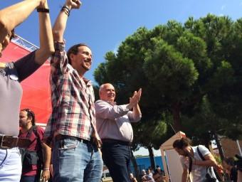 Iglesias i Rabell, ahir al Carmel EUROPA PRESS