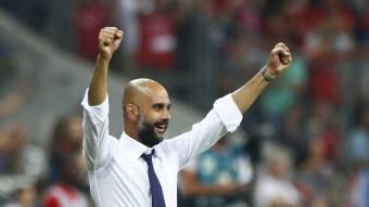 L'entrenador del Bayern de Munic, Pep Guardiola, ha donat visbilitat al sobiranisme català a Alemanya REUTERS