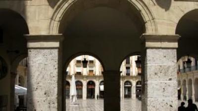 Plaça de Dins de la vila d'Alcoi. B. SILVESTRE