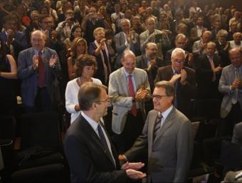 Artur Mas en l'acte 'Empresaris pel sí' d'aquest dilluns ORIOL DURAN