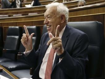 Margallo, durant la sessió del Congrés d'aquest dilluns EFE
