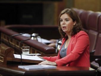 Soraya Sáenz de Santamaría, al Congrés EFE