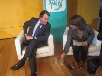 El president de la Generalitat i número 4 de Junts pel Sí, Artur Mas, en un acte a Barcelona EP