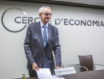 El catedràtic Antón Costas, que actualment presideix el Cercle d'Economia, en una fotografia del mes de maig passat JOSEP LOSADA / ARXIU