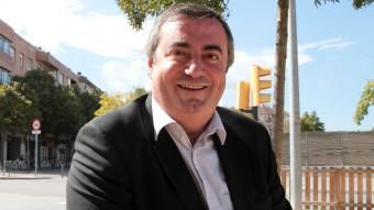 El cap de llista d'Unió per Girona i president de la intercomarcal del partit a les comarques gironines, Xavier Dilmé JOAN SABATER
