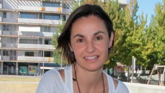 Anna Caula, participa per primera vegada en una candidatura política. j.sabater