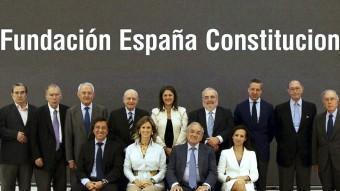Imatge d'alguns dels membres de la fundació d'exdirigents estatals EFE