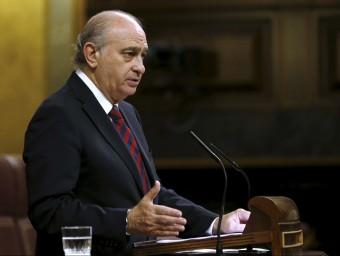 El ministre d'Interior espanyol, Jorge Fernández Díaz EFE