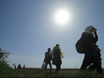 Refugiats sirians, a Sèrbia, camí cap a Croàcia REUTERS