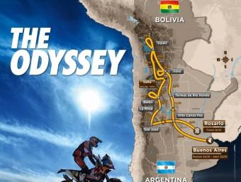 L'itinerari del Dakar 2016