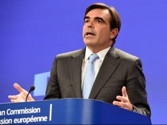 El portaveu de la Comissió Europea, Margaritis Schinas acn