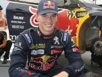 Timmy Hansen, ahir al Circuit de Barcelona-Catalunya JORDI BIEL