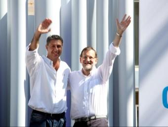 Rajoy va donar suport a Albiol en un míting aquest diumenge ACN