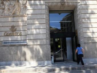 Una avaria informàtica va afectar ahir totes les oficines de Correus de l'Estat J.S. / ARXIU
