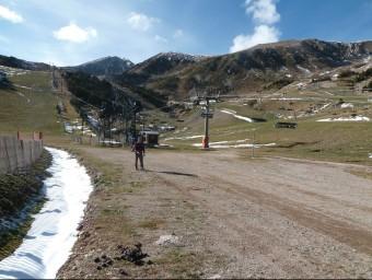 L'estació d'esquí i de muntanya de Vallter 2000 ha estat finalment exclosa del nou parc natural. J.C