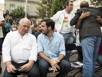 Rabell i Garzón en un acte de Catalunya Sí que es pot a Montcada i Reixac JOSEP LOSADA
