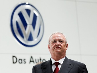 El fins ara president de Volkswagen, Martin Winterkorn, en una imatge del passat abril REUTERS