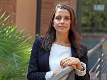La cap de llista de Ciutadans, Inés Arrimadas JUANMA RAMOS