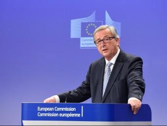 El president de la Comissió Europea, Jean-Claude Juncker ACN