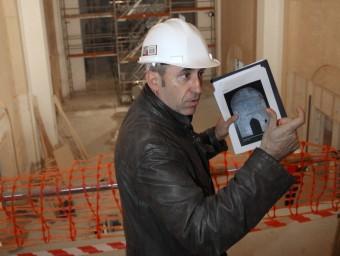 Xavier Ludevid , un dels promotors del manifest dels arquitectes pel sí en una imatge d'arxiu LLUÍS SERRAT