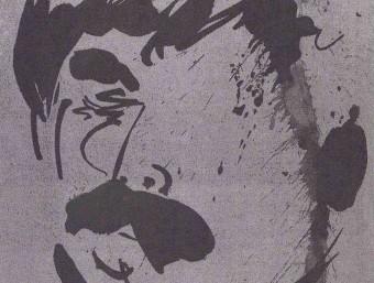 Retrat de Felip Vilà realitzat per Josep Ministral als anys 70 i que il·lustra el cartell ARXIU