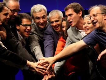 L'acte final de campanya de Ciutadans a Virrei Amat de Barcelona ACN