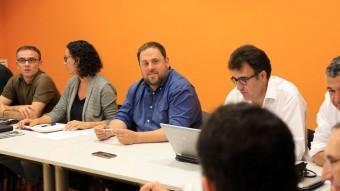 Reunió de l'executiva d'ERC aquest dilluns a Barcelona ANDREU PUIG