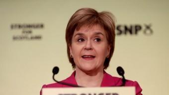 La primera ministra d'Escòcia, Nicola Sturgeon, en una imatge recent REUTERS