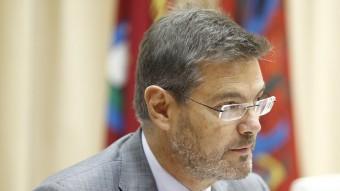 El ministre de Justícia, Rafael Catalá, en la clausura d'unes jornades sobre menors EP