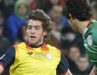 Sergi Roberto en el partit de l'any passat O. DURAN