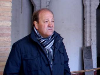 Josep Amill, alcalde de Sarral, insta als veïns a denunciar els convilatans incívics L.C. / EPN