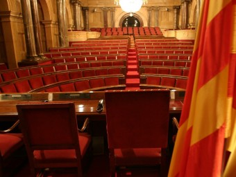 L'hemicicle del Parlament ROBERT RAMOS/ARXIU