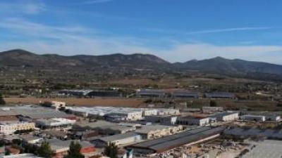 Polígon industrial de la vila d'Ibi. B. SILVESTRE