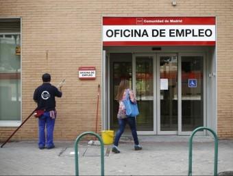 Façana d'una oficina d'ocupació de la Comunitat de Madrid,