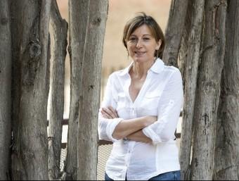 Junts pel Sí, a proposta d'ERC, ha triat Carme Forcadell per presidir el Parlament de Catalunya JOSEP LOSADA