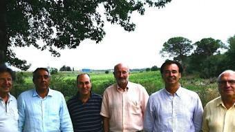 Membres del GIG en una trobada a l'agost EUROPA PRESS