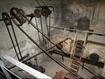 Fassina Balanyà de l'Espluga, que es dedicava a la destil·lació d'aiguardent ARXIU