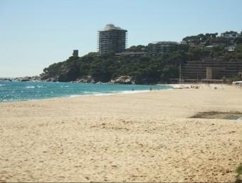 Imatge de la platja de Torre Valentina , a Sant Antoni de Calonge. JOAN PUNTÍ
