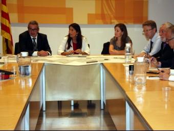 Reunió de la comissió de seguiment ahir ACN
