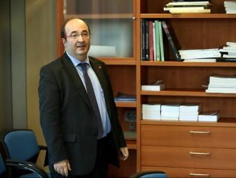 Miquel Iceta, líder del PSC EFE