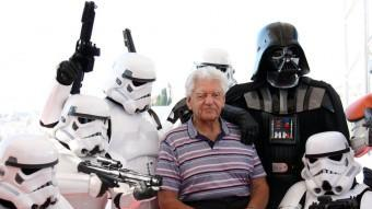 David Prowder, l'actor que va interpretar Darth Vader, presentava ahir a Sitges el documental 'I am your father' ACN