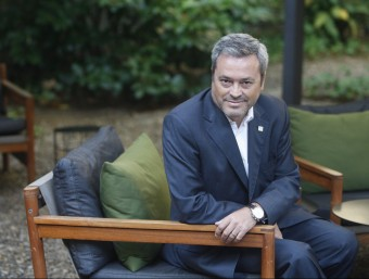 Juan Antonio Fernández, conseller delegat d'Unit4 Ibérica.  ORIOL DURAN