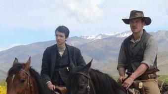 Kodi Smit-McPheei Michael Fassbender a 'Slow west', el 'western' presentat ahir a la secció Oficial Fantàstic Òrbita de Sitges BETTA PICTURES