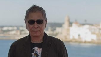 Takashi Miike va presentar ahir la darrera de les prop de 100 produccions que ha dirigit, 'Yakuza apocalypse' ALEJANDRO GARCÍA/EFE